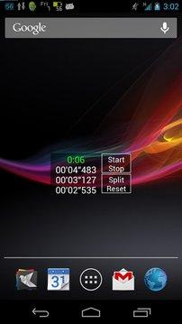 Stopwatch Widget
