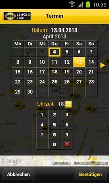 Leipzig Taxi 4884