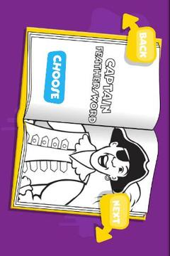 The Wiggles Colouring App