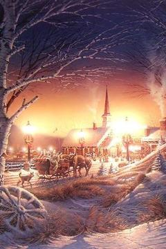 Oldfashioned Winter Scenes