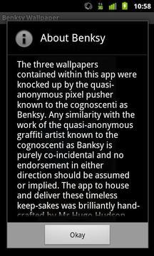Benksy Wallpaper
