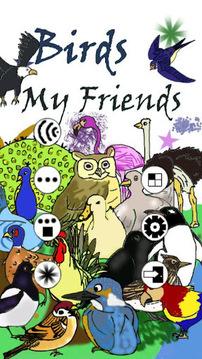 鸟类我的朋友-