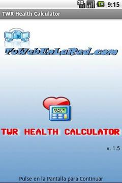 TWR Health Calculator