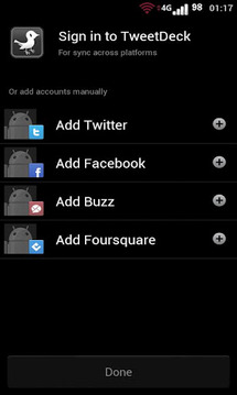 TweetBlackGray Tweetdeck Free
