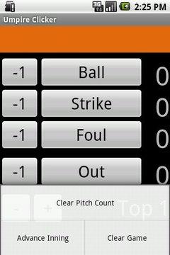 Umpire Clicker
