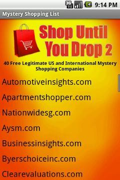 Shop Until You Drop 2