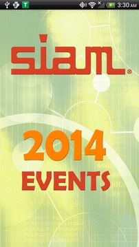 SIAM 2014 Events