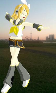 与初音合影(MikuMikuPhoto)