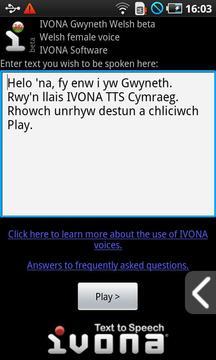 IVONA Gwyneth Welsh(beta版)