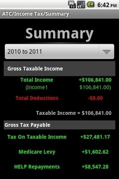 澳洲所得税计算器
