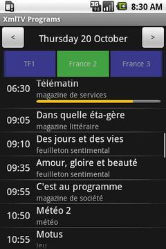 XmlTV Programs