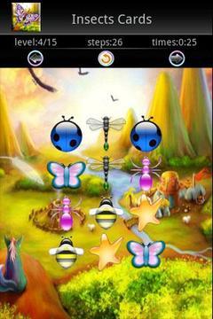 昆虫记忆卡游戏