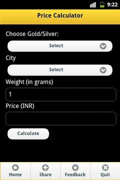 Gold Price India