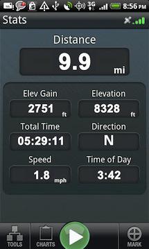 Backpacker GPS Trails Lite
