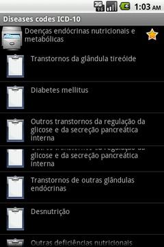 Diseases Codes ICD-10
