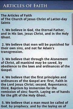 LDS Articles of Faith