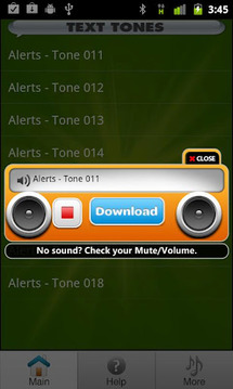 Free Text Tones