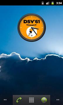 DSV '61 Klok
