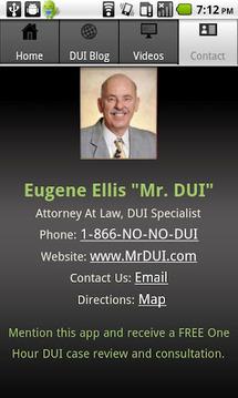 Mr DUI