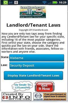 U.S. Landlord Tenant Laws