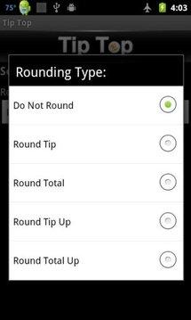 Tip Top (Tip Calculator)