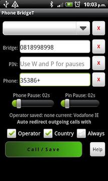 Phone BridgeT