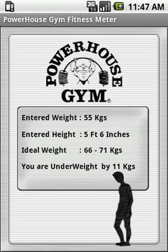 Powerhouse Fitness Meter