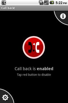Call back!