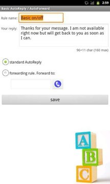 Intelligent AutoReply Lite