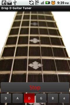 Drop D Guitar Tuner