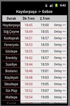 Tren Vapur Saatleri