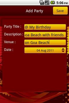 Party Planner Lite