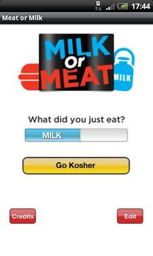 Milk or Meat - The Kosher App