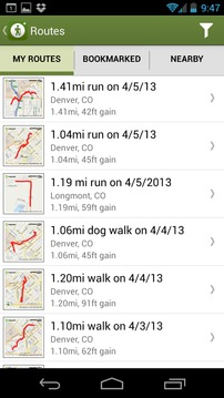 MapMyHike GPS Hiking