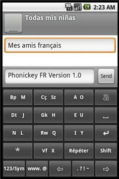 Phonic Keyboard French