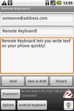 远程键盘输入法