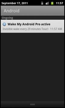 唤醒我的Android的临