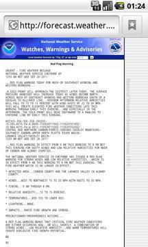 US Weather Hazard Watcher lite