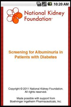 Screening for Albuminuria
