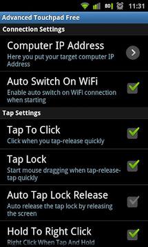Advanced Touchpad Free