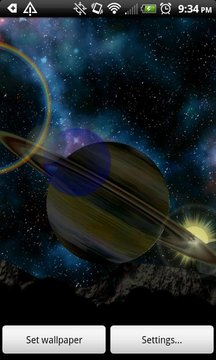 Titan Sunrise LWP Lite