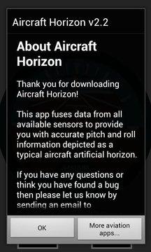 Aircraft Horizon Free