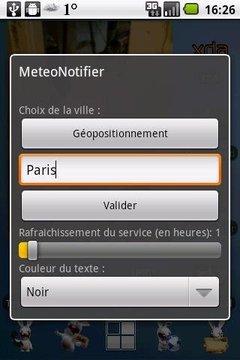 MeteoNotifier
