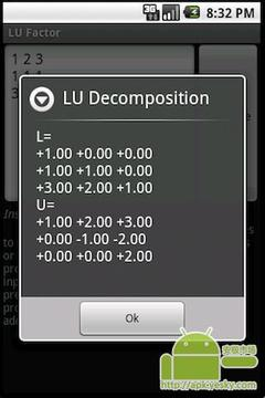 LU / PLU矩阵分解