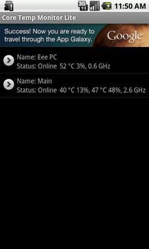 Core Temp Monitor Lite