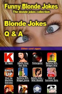 Funny Blonde Jokes