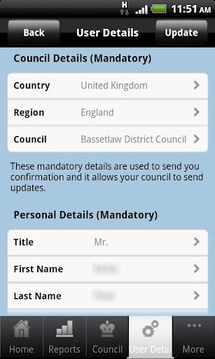 UK - My Council Services