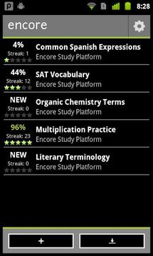 Encore Study Platform