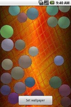 Colorful Balls Live Wallpaper