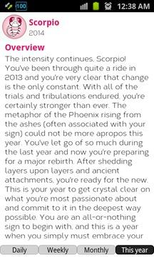 Daily Horoscope 2014